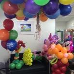 Доставка шаров и праздничного оформления Новошар, Новосибирск