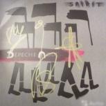"""Винил """"Spirit"""" Depeche Mode с автографами, Новосибирск"""