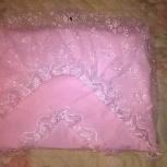 Продам одеяло-конверт на выписку, Новосибирск