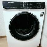 Почти новая стиральная машина Samsung (узкая, 6.5 кг ОЧЕНЬ тихая), Новосибирск