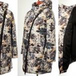 Модное новое демисезонное пальто 50-52 размер, Новосибирск