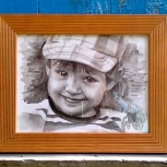 Портреты акварелью, Новосибирск
