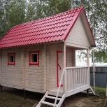 Бани Дома из профилированного бруса, Новосибирск
