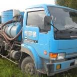 Ассенизатор 4,5м3 и  7м3 откачка ям, воды, туалетов, Новосибирск