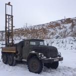 Геология под коттедж, бурение на воду, Новосибирск