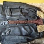 Зимняя куртка мужская из натуральной кожи р. 52-54, Новосибирск