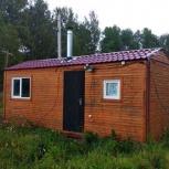 Вагончик (дачный домик или баня) 7х2,3, Новосибирск