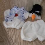 Новогодний костюм для мальчика Снеговик 3-5 лет, Новосибирск