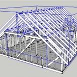 Помощь в строительстве: дизайн, смета, 3D-модель (дом, баня, гараж), Новосибирск