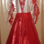 Платье для танцев Категория Юниор-1 10-12 лет, Новосибирск