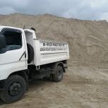 Щебень, песок, отсев, глина, пгс, дрова, земля, опилки от1тонны, Новосибирск