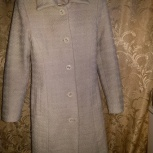 Пальто белое-кремовое, шерсть, Новосибирск