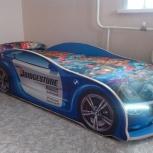 Продам детскую кровать-машину, Новосибирск