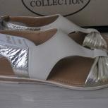 Новые сандалии, нат. кожа, стелька 26,5 см, Новосибирск