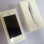 Apple iPhone 5 16Gb White (отличное состояние), Новосибирск