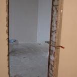 Вырезаю дверной проём в перегородке и другие работы выполняю, Новосибирск