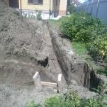 Земляные работы (копаем траншеи, ямы, котлованы), Новосибирск