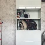 Комплект шкаф+тумба+антресоль, Новосибирск