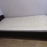 Продам кровать с матрасом, Новосибирск
