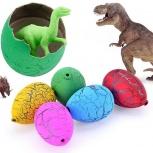 Растущие динозавры из яйца в воде, Новосибирск