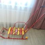Санки новые 2 колеса, Новосибирск