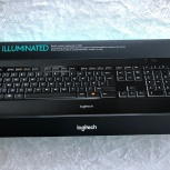 Logitech Wireless Illuminated Keyboard K800 Black, Новосибирск