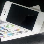 Apple iPhone 4S 16Gb, белый, ростест, Новосибирск