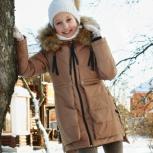 Пуховик на девочку 7-9 лет, Новосибирск