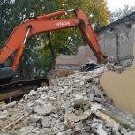 Демонтаж стен,снос дачных домиков. Вывоз строительного мусора, Новосибирск