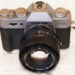 Объектив Fujifilm X-T10 XF 35/1.4 R, Новосибирск