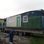 Самогрузы. Перевозим гаражи, вагончики, киоски, контейнера, ёмкости., Новосибирск