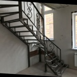 металлические лестницы. Абсолютно все типы лестниц.Лестница в дом, Новосибирск
