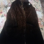 продам шуба женская из бобрика  с норкой., Новосибирск