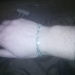 Продам серебряный браслет, Новосибирск