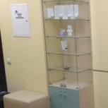 Стеллаж - витрина для продукции, Новосибирск