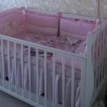 Детская кровать с продольным маятником Кубаночка, Новосибирск