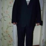 Костюм мужской 68 р-р, рост 188 см., б/у, Новосибирск