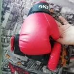 Боксерские перчатки Бокс П-620 6 унц, Новосибирск