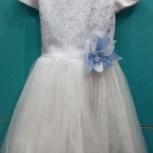Нарядное платье с пышной юбкой р.116-122, Новосибирск