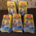 Продадим 5 упаковок трусиков  huggies для купания 12-18 кг, Новосибирск