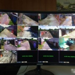 Установка видеонаблюдения Full HD, Новосибирск