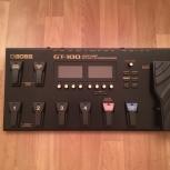 Гитарный процессор Boss GT-100, Новосибирск