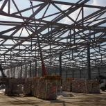 Монтаж металлоконструкций, сэндвич-панелей. Общестроительные работы, Новосибирск