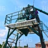 Оборудование для бетонных заводов (РБУ). Бетонные заводы. НСИБ, Новосибирск
