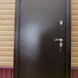 Дверь металлическая термо 2066/880 L, Новосибирск