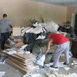 Утилизация мусора после демонтажа, сноса стен, пожара, потопа, Новосибирск