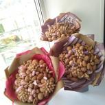 Ореховый букет, букет из сухофруктов и орехов, Новосибирск