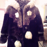 Продам детскую шубку на девочку 5-7 лет, Новосибирск