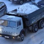 Уборка и вывоз снега, Новосибирск