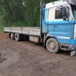 Грузоперевозки, открытый борт - 10-12 тонн, Новосибирск